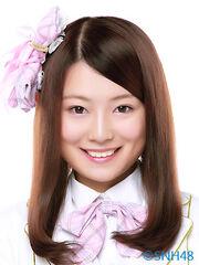 SNH48 Zhou QiuJun 2014