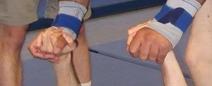 Hände einfacher Flieger