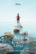 Alice Through The Looking Glass Poster 02