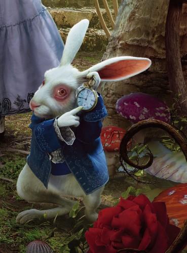 Alice In Wonderland Characters Tim Burton Rabbit