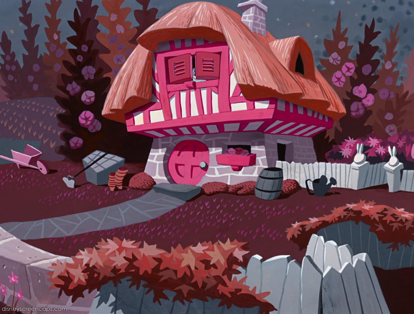 White Rabbit's House | Alice in Wonderland Wiki | FANDOM ...