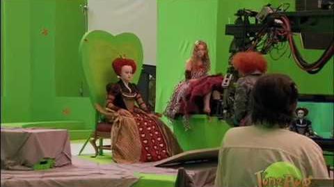 Alice In Wonderland-Behind the Scenes
