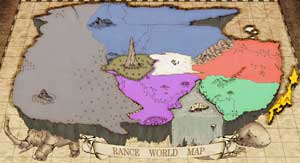 Rance nations map