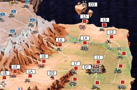 Kichikuou Rance - Leazas map