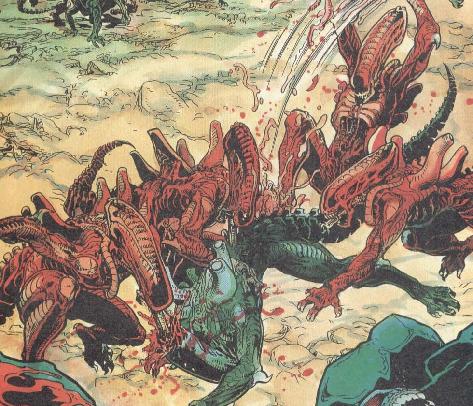 Red Xenomorph   Alien Anthology Wiki   FANDOM powered by Wikia