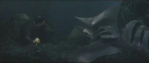 Gamera saves the Submarine