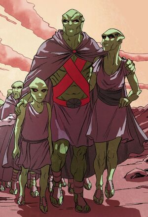 Green Martians