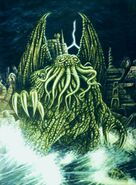 Cthulhu and R'lyeh
