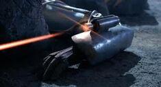 Cyber arm blaster