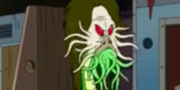 Unidentified tentacle-face humanoid (American Dad)