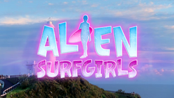 Alien Surf Girls Intertitle Logo