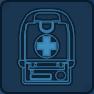Healing kit icon