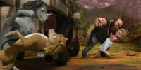 A Speeding Locomotive