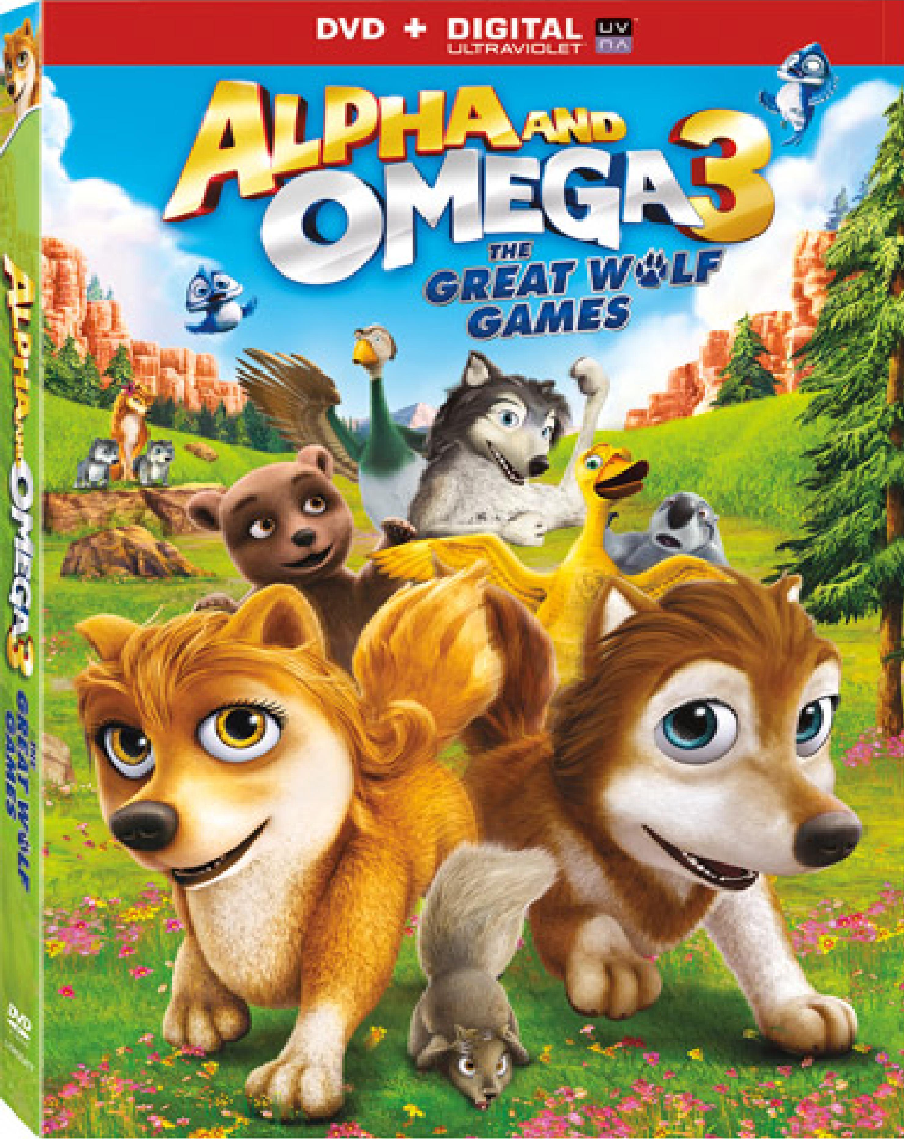 Alpha and Omega 3: The Great Wolf Games / Алфа и Омега 3: Големите вълчи игри (2014)