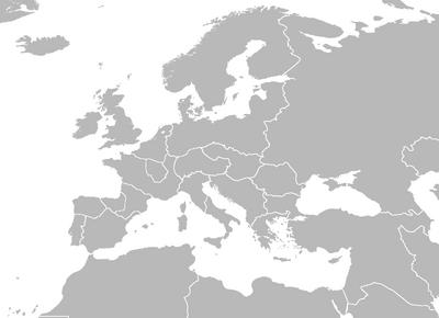 Europe Map Burma Ascension