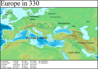 Europe in 330 (Gaul Rising)