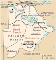 HCW 1997.Botswana map4