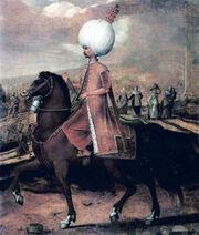 Hans Eworth Osmanischer Wurdentrager zu Pferd