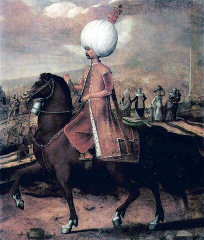 File:Hans Eworth Osmanischer Wurdentrager zu Pferd.jpg