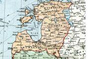 Baltic staat karte