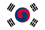 Old flag of korea