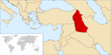 Kurdistan Map