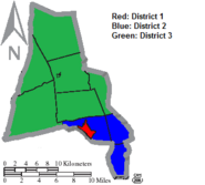 Montour County Districts for the House
