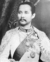 King Chulalongkorn portrait photograph