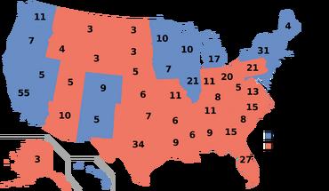 US Electoral College 2008 SIADD