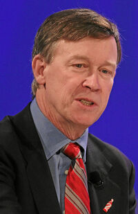 John W. Hickenlooper World Economic Forum 2013 (cropped)