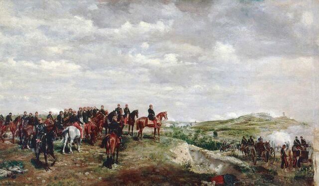 File:Napoléon III à la bataille de Solférino..jpg
