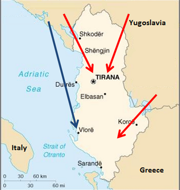 Yugoslav Invasion of Albania