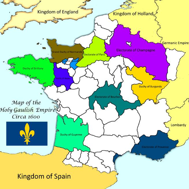 Holy Gaulish Empire 1600