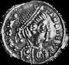 Monnaie d'argent de Clotaire Ier