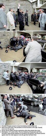 Reagan assassinated