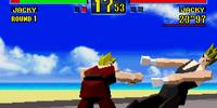 Virtua Fighter (Ohga Shrugs)