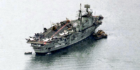 Ethiopian aircraft carrier Haile Selassie (Alternity)