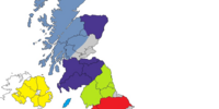 United Kingdom divided 2008