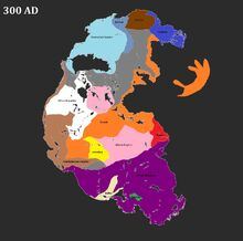 Pangea 300 AD