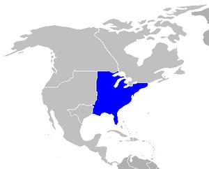 Northamerica map highlight amcom