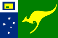 Flag of the Empire of Australia (PM)