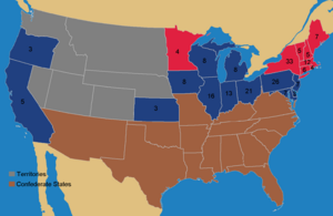 US Elections 1864