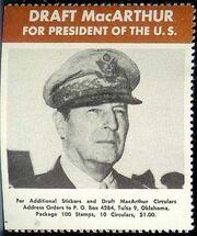 MacArthur for President