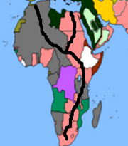 African railroad