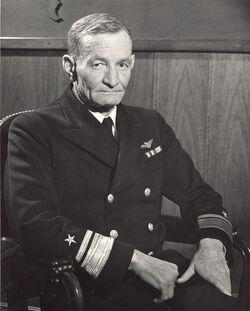 Vice-Admiral John S McCain