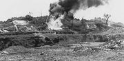 The US forces attacking Okinawa