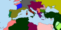 Division of France and Italy (Look Out, Sir! Revised Map Game)