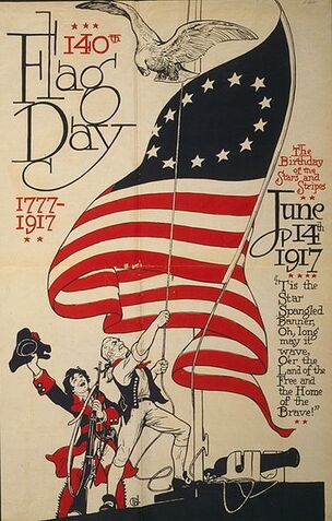 140th US Flag Day