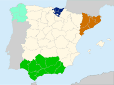 Spain before Pact of Autonomies (TNE)