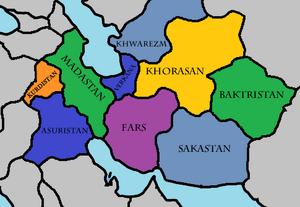 Five western kingdoms